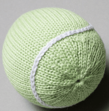 Organic Tennis Ball Rattle - Make Me Yours Toy Studio