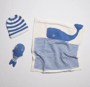 Organic Whale Baby Gift Set - Make Me Yours Toy Studio