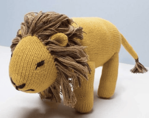 Organic Lion Plush Toy - Make Me Yours Toy Studio