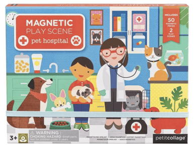 Pet Hospital Magnetic Play Scene - Make Me Yours Toy Studio