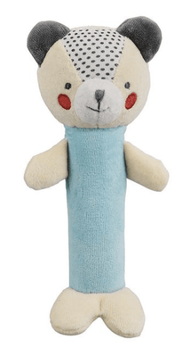 Organic Rattle - Blue Bunny - Make Me Yours Toy Studio