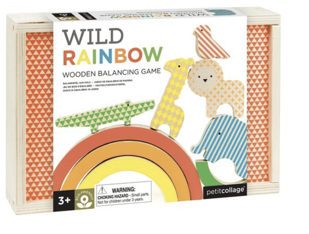 Wild Rainbow Balancing Game - Make Me Yours Toy Studio