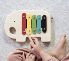 Wooden Xylophone Elephant - Make Me Yours Toy Studio