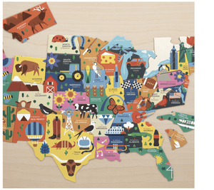 Map of the USA Puzzle - Make Me Yours Toy Studio