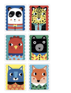 Animal Friends Puzzle Sticks - Make Me Yours Toy Studio