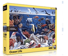 National Geo Ocean Life Puzzle - Make Me Yours Toy Studio