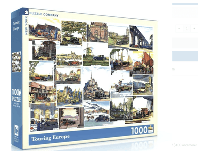 Touring Europe Puzzle - Make Me Yours Toy Studio