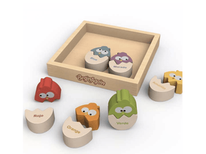 Colors N Eggs Puzzle - Make Me Yours Toy Studio