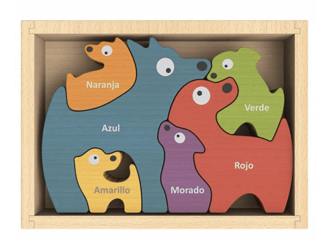 Dog Family Puzzle - Make Me Yours Toy Studio