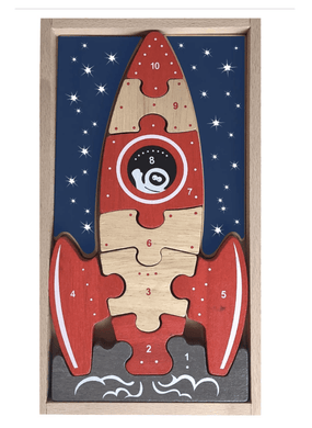 3, 2, 1 Blastoff Puzzle - Make Me Yours Toy Studio