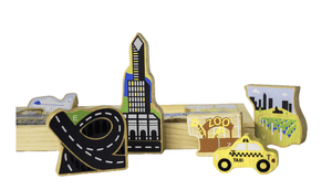 City A-Z Puzzle - Make Me Yours Toy Studio