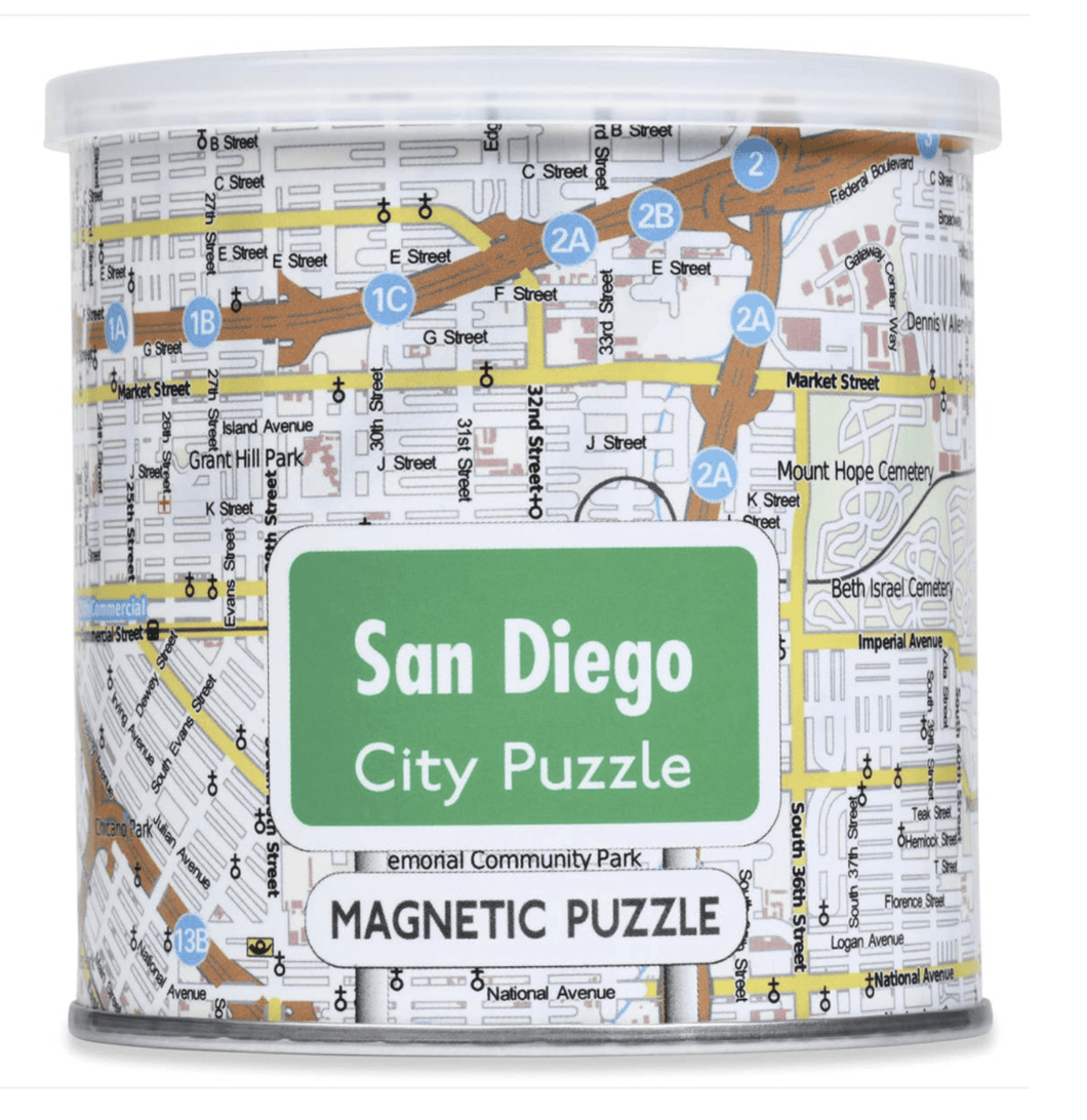 Magnetic City Puzzle San Diego - Make Me Yours Toy Studio
