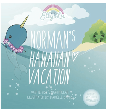 Norman's Hawaiian Vacation Book - Make Me Yours Toy Studio