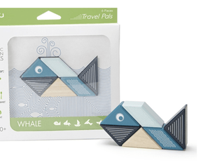 Travel Pals - Whale - Make Me Yours Toy Studio