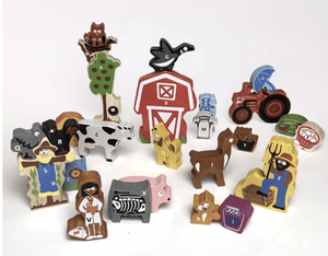 A to Z Farm Playset - Make Me Yours Toy Studio