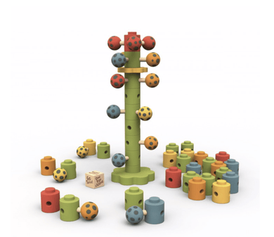 Ladybug Flower Tower game - Make Me Yours Toy Studio