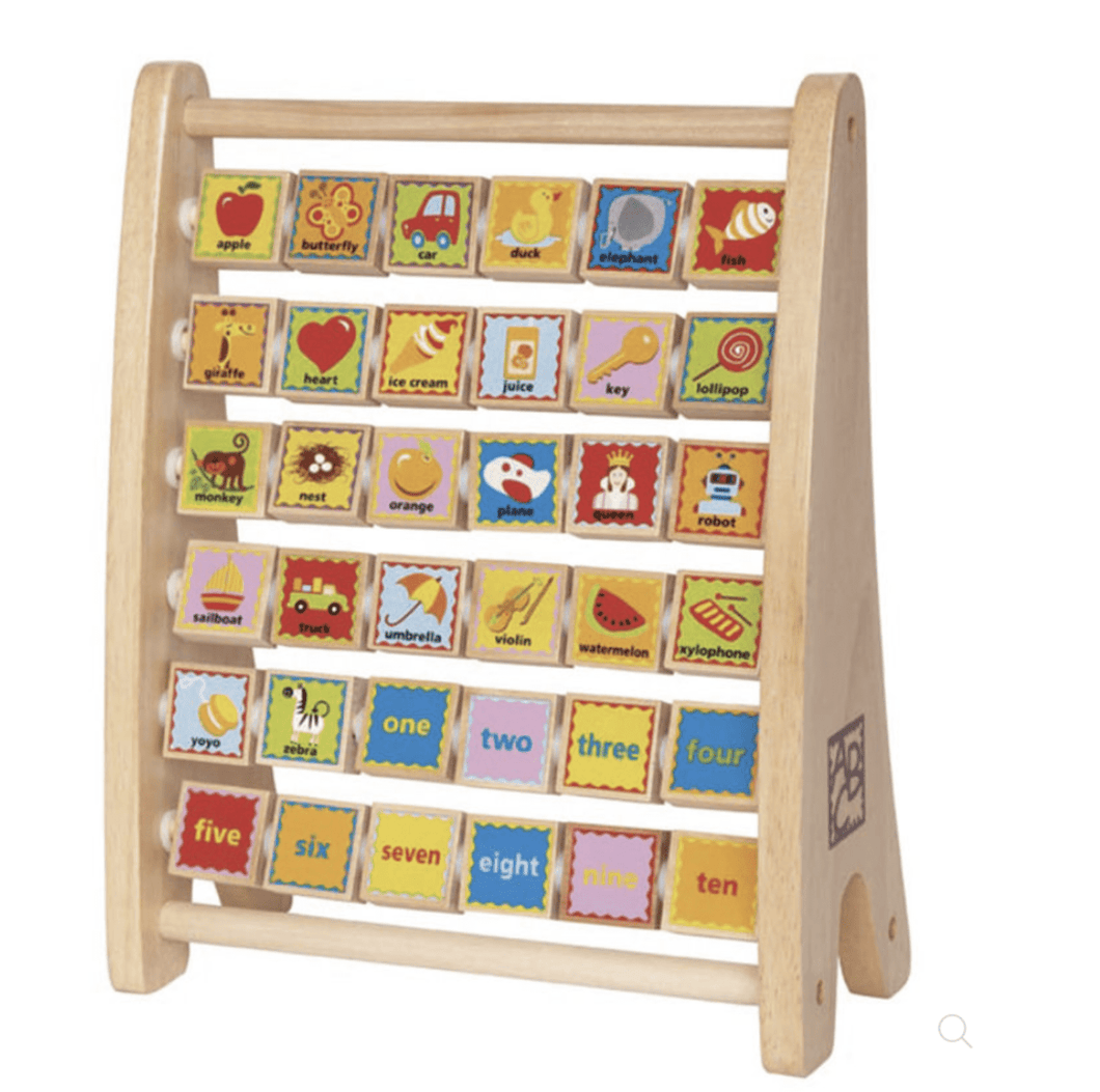 Alphabet Abacus - Make Me Yours Toy Studio