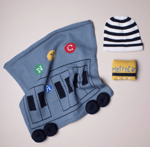 Train Baby Gift Set - Make Me Yours Toy Studio