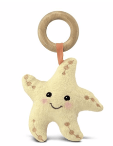 Starfish Teething Toy - Make Me Yours Toy Studio