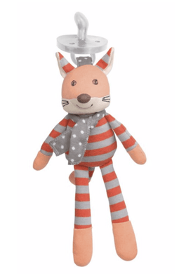 Fox Pacifier Buddy - Make Me Yours Toy Studio