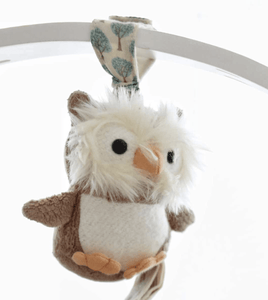 Owl Vibrating Stroller Toy - Make Me Yours Toy Studio