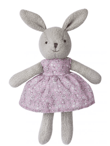 Little Plush Gray Bunny - Make Me Yours Toy Studio