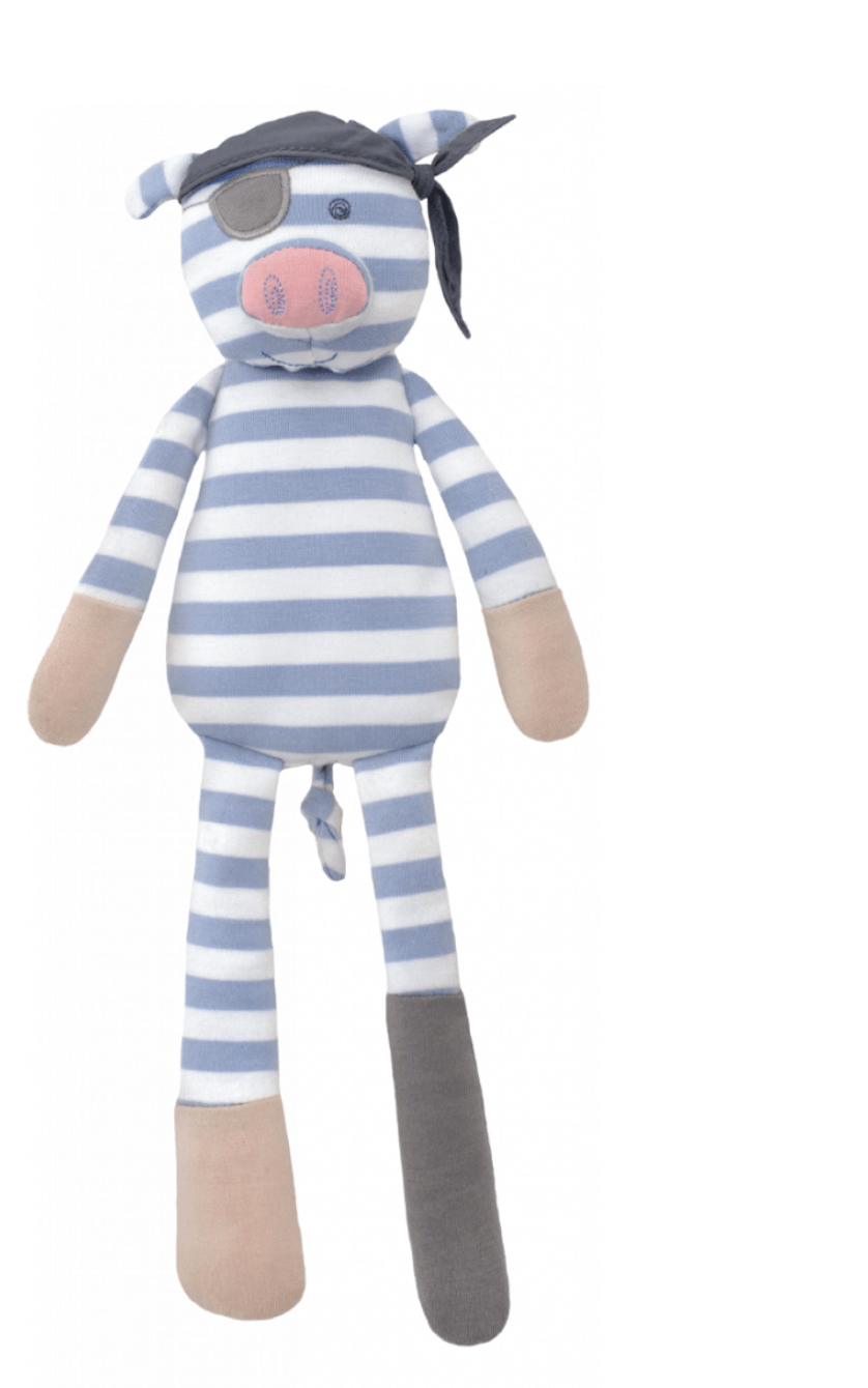 Pirate Pig Plush - Make Me Yours Toy Studio