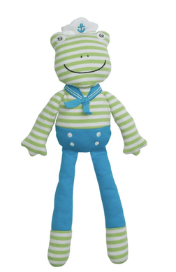 Skippy the Frog Plush - Make Me Yours Toy Studio