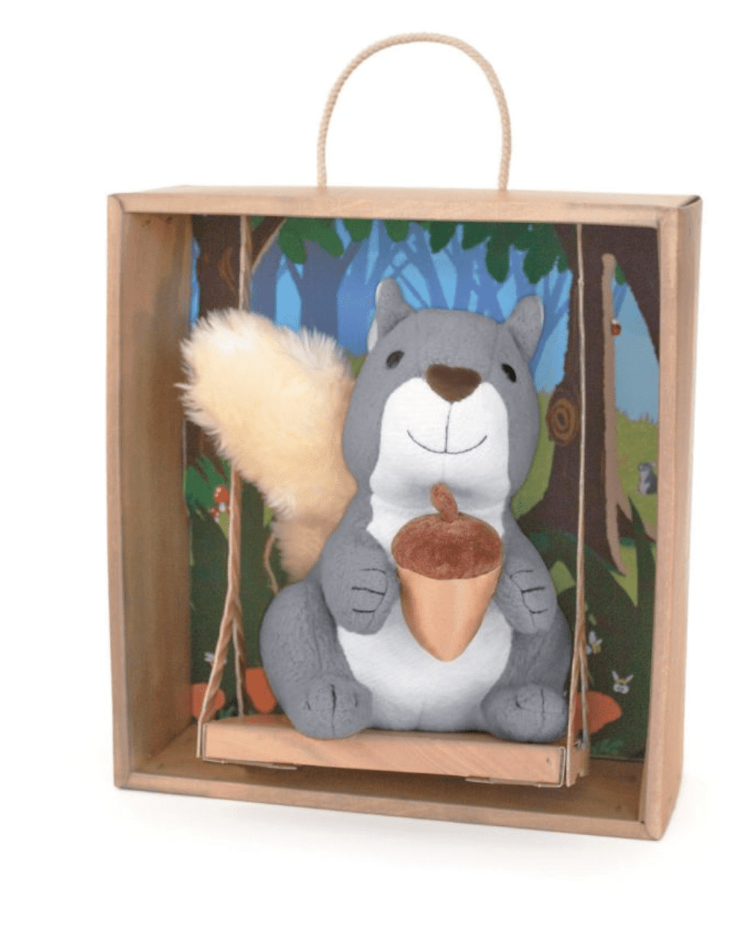 Chatty Chatty Squirrel Plush - Make Me Yours Toy Studio