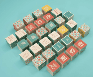 Chinese Language Blocks - Make Me Yours Toy Studio