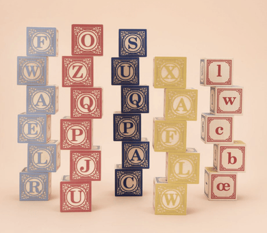 French Language Blocks - Make Me Yours Toy Studio