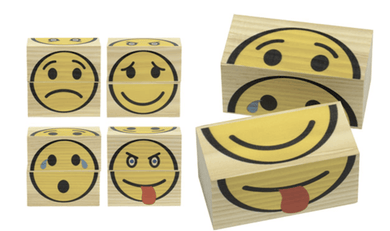 Games To Go, Emoji Faces - Make Me Yours Toy Studio