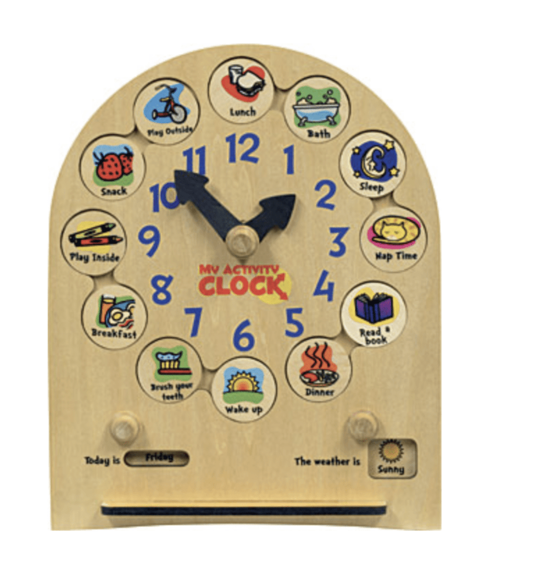 My Activity Clock - Make Me Yours Toy Studio