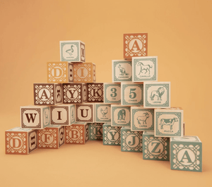 Italian Language Blocks - Make Me Yours Toy Studio
