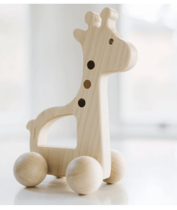 Giraffe Push Toy - Make Me Yours Toy Studio