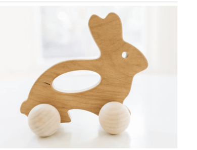 Bunny Push Toy - Make Me Yours Toy Studio