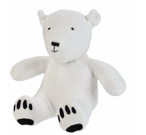 Artie the Polar Bear Plush - Make Me Yours Toy Studio