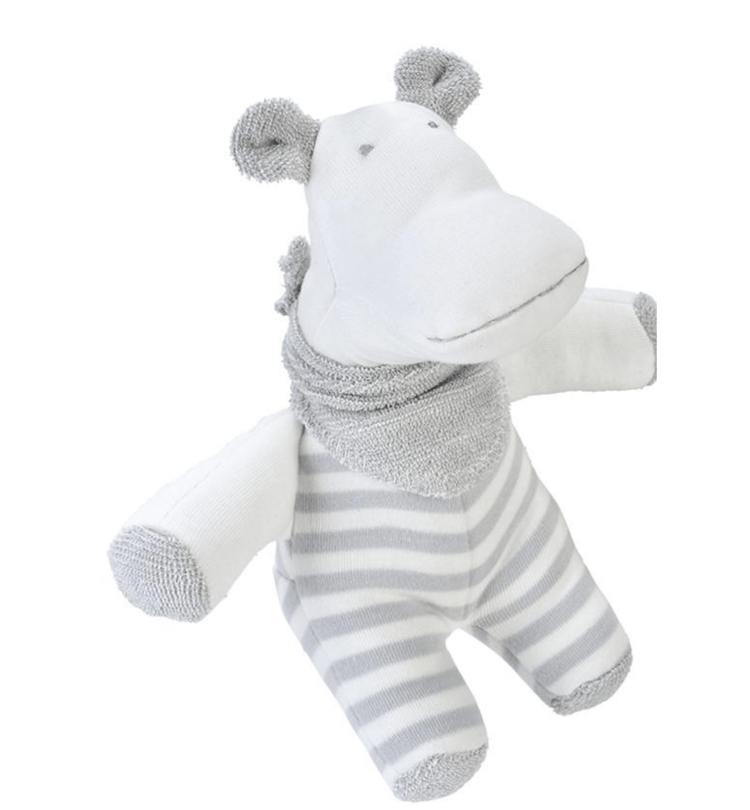 Organic Hippo Lovey - Make Me Yours Toy Studio