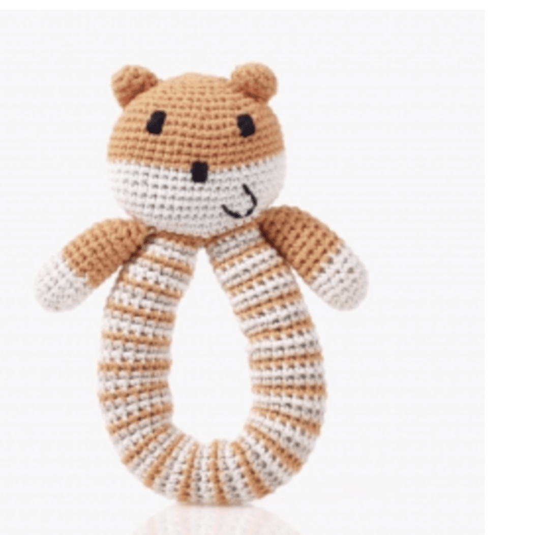 Organic Knit Rattle - Make Me Yours Toy Studio