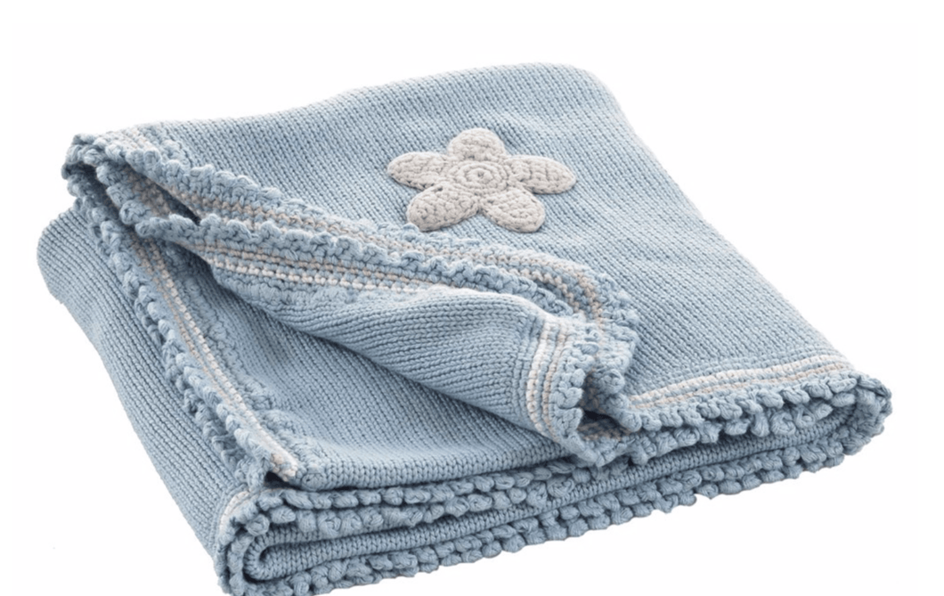 Organic Cotton Knit Blanket - Make Me Yours Toy Studio