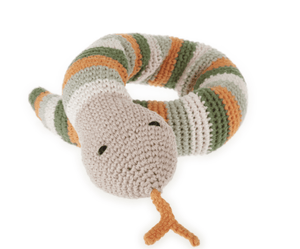 Organic Snake Rattle - Make Me Yours Toy Studio