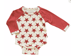 All Stars Bodysuit - Red - Make Me Yours Toy Studio