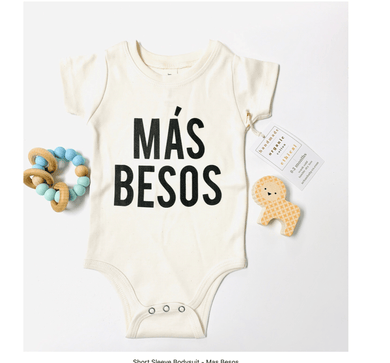 Mas Besos Organic Onesie - Make Me Yours Toy Studio