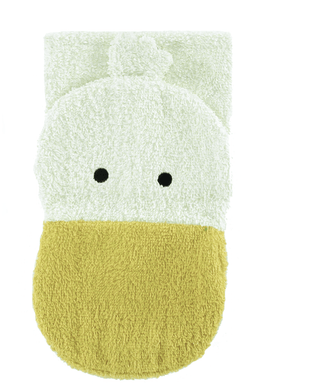 Organic Ducky Washcloth Puppet - Make Me Yours Toy Studio