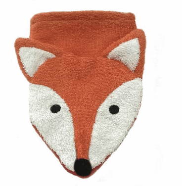 Foxy Organic Cotton Washcloth Puppet - Make Me Yours Toy Studio