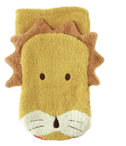 Organic Lion Washcloth Puppet - Make Me Yours Toy Studio