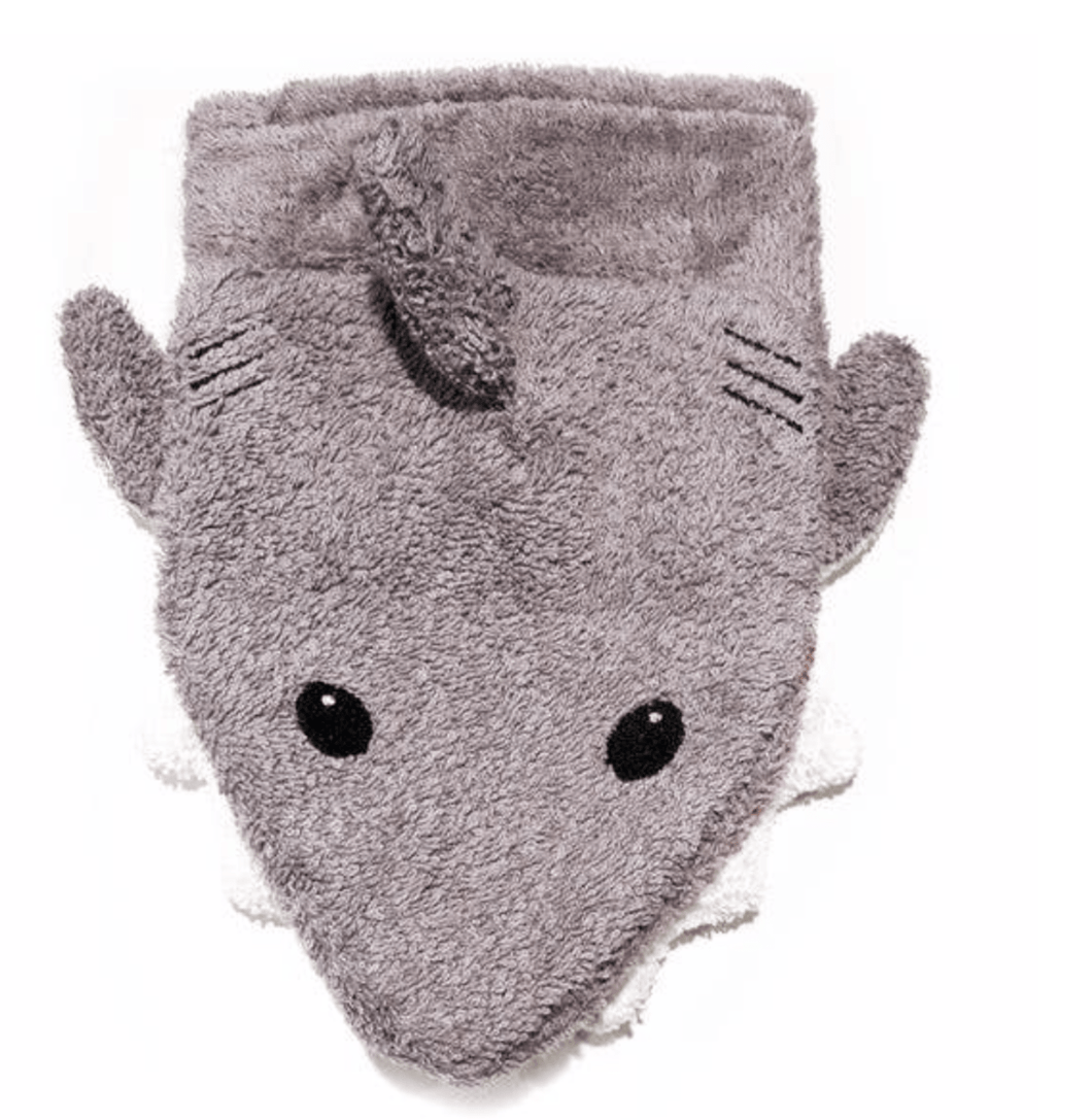 Sharky Organic Washcloth Puppet - Make Me Yours Toy Studio