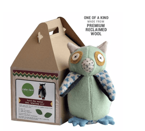 Owl Sewing Kit - Make Me Yours Toy Studio