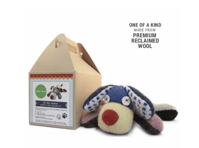 Scrappy Dog Stuffed Animal Sewing Kit - Make Me Yours Toy Studio