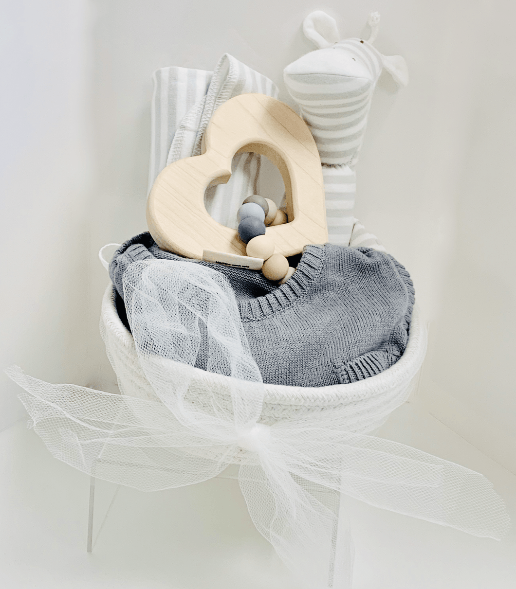 Gorgeous Grays Gender Neutral Baby Set - Make Me Yours Toy Studio
